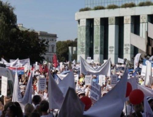 Տղամարդը զոհվել է Վարշավայում բուժաշխատողների բողոքի ցույցի ժամանակ