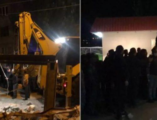 Լարված իրավիճակ` 7-րդ Մասիվում. քաղաքացիների և ոստիկանների միջև բախում տեղի ունեցավ. Լուսանկար