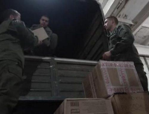 Ռուս խաղաղապահները ԼՂ են տեղափոխել ՌԴ-ից ուղարկված 10 տոննա օգնությունը