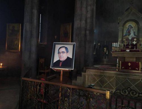 Լուսանկարներ Տիգրան Կարապետյանի հոգեհանգստից
