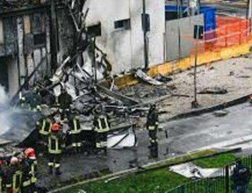 Իտալիայում ինքնաթիռն ընկել է շենքի վրա