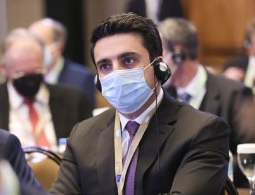 Ալեն Սիմոնյանն Աթենքում մասնակցում է Եվրոպական խորհրդարանների նախագահների երկօրյա խորհրդաժողովին
