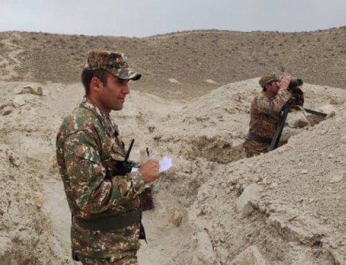 Մարտավարական զորավարժություն. հայտնաբերել և խոցել են պայմանական հակառակորդի կրակակետերը
