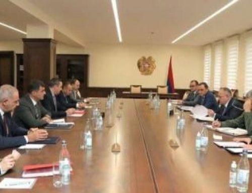 ՀՀ ՊՆ վարչական համալիրում անցկացվել է միջգերատեսչական հանձնաժողովի նիստ