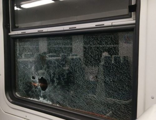 Անհայտ անձինք քարկոծել են Երևան-Գյումրի-Երևան երթուղին սպասարկող էլեկտրագնացքը