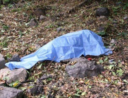 Վազաշեն գյուղի հարակից հատվածում հայտնաբերվել է տղամարդու դի. ՔԿ